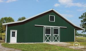pole building metal agricultural building