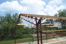 Pre fabricated metal buildings diy building kits for Pre manufactured trusses