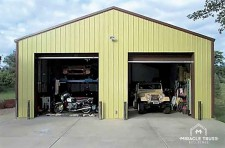 Pre fabricated metal buildings diy building kits for 40x40 garage