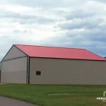 Custom Colored Hangar