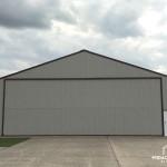 Steel Truss Airplane Hangar