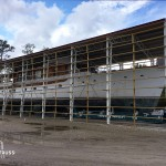 Steel truss commercial large marine storage