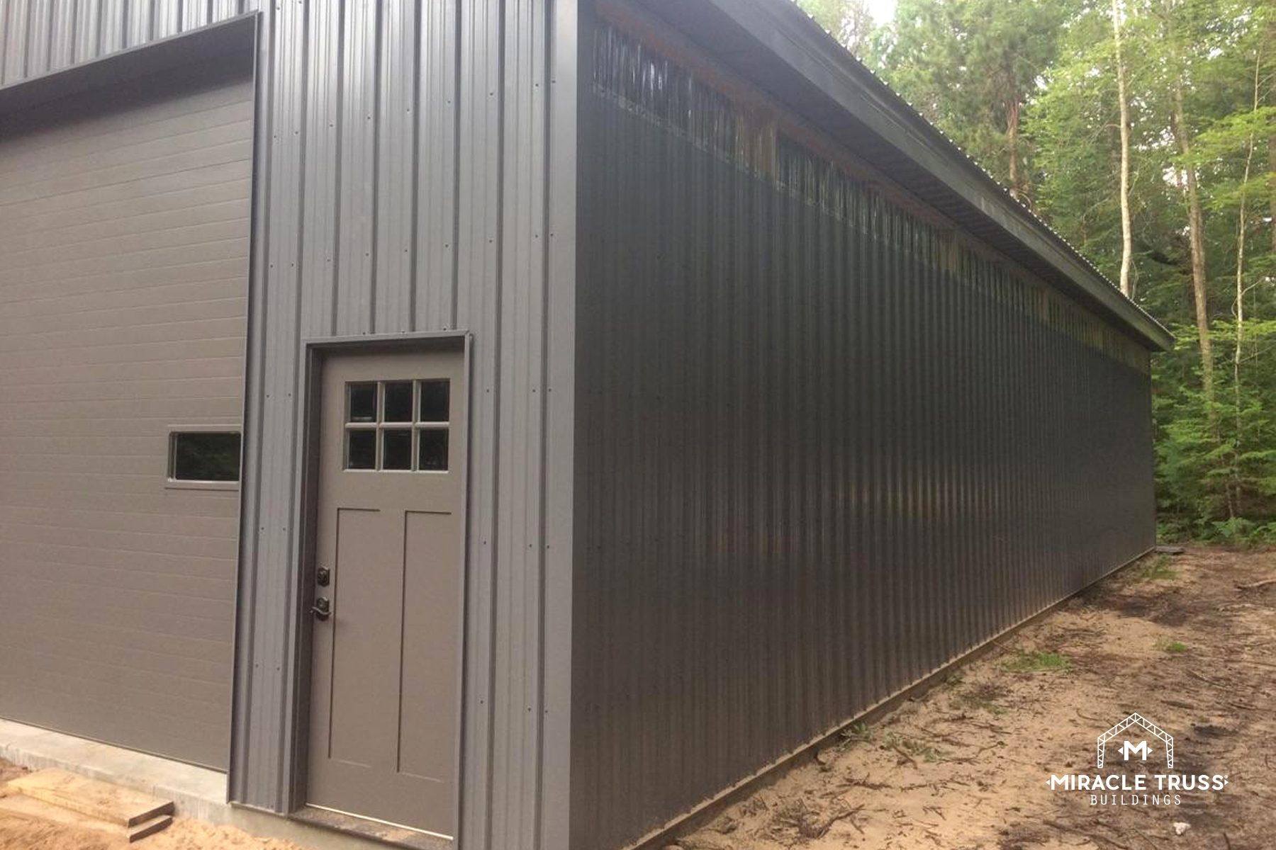 Easy Assemble Diy Metal Garage Or Shop Miracle Truss