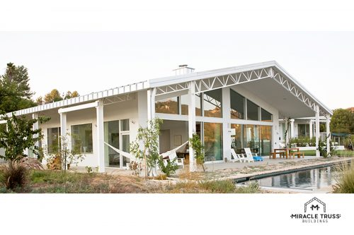 California truss house
