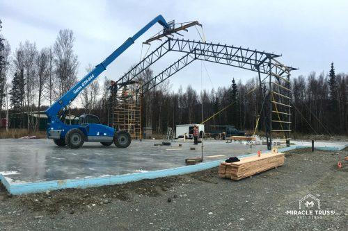metal truss construction