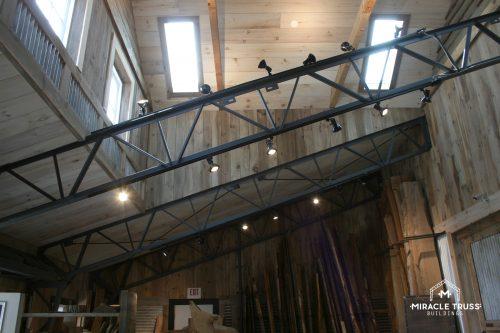 metal clear span truss