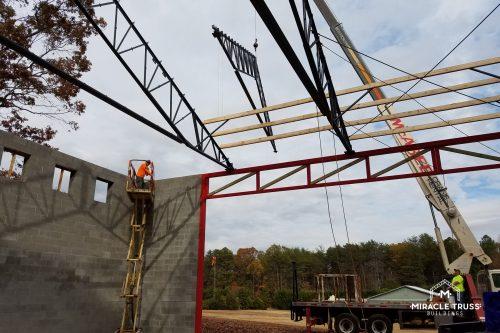 metal truss roof
