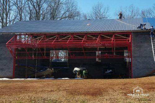red door hangar