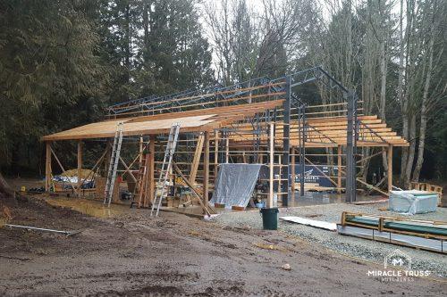 storage building progress