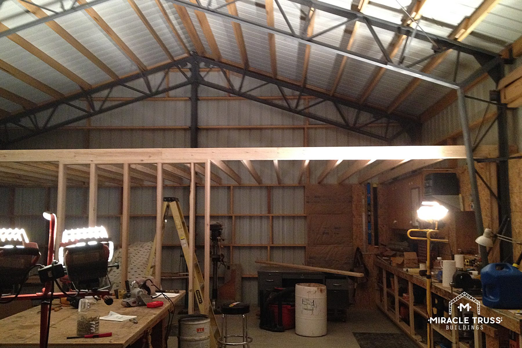 Steel Shop Building Plans