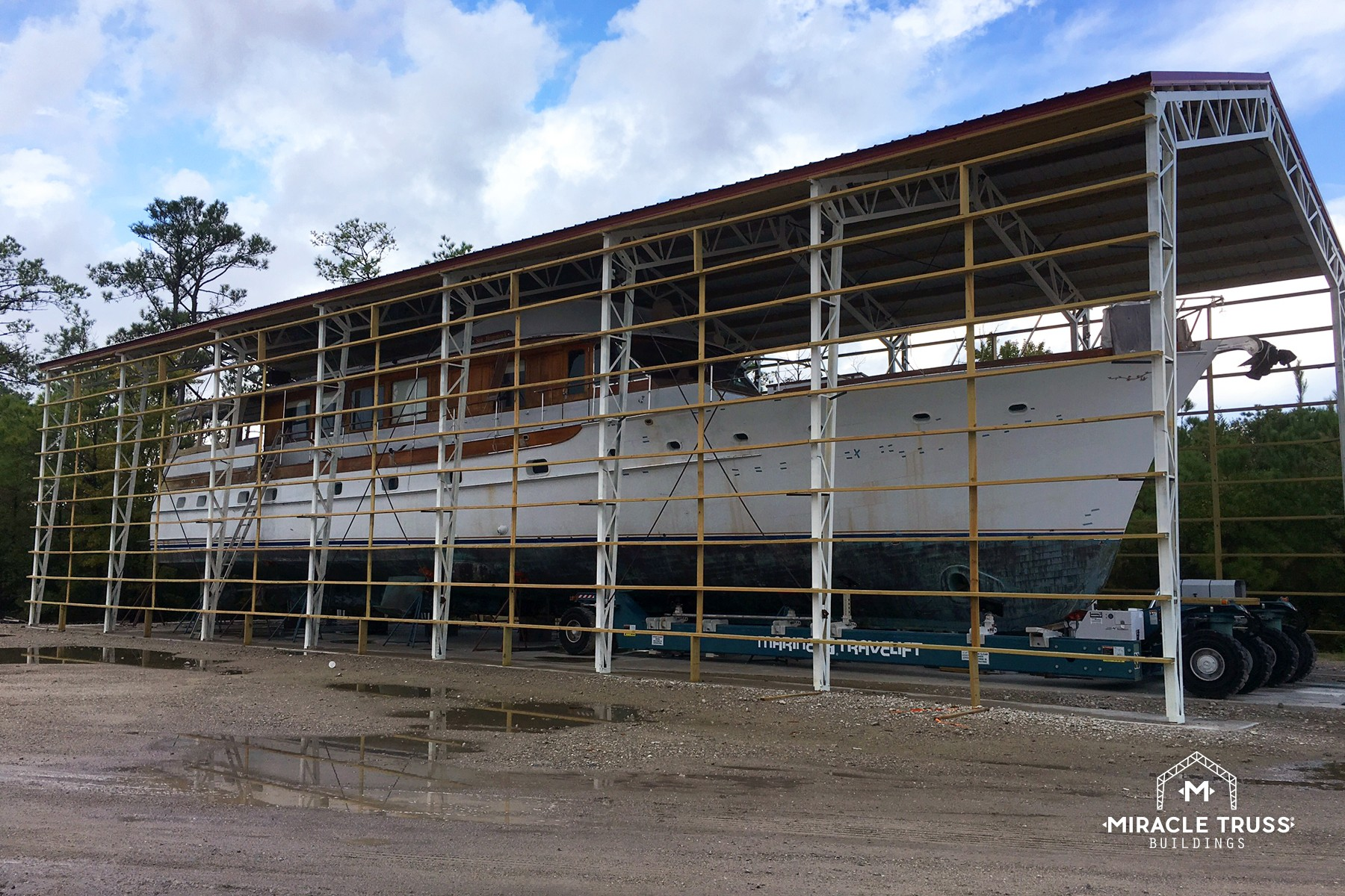 Strong And Durable Commercial Buildings Miracle Truss