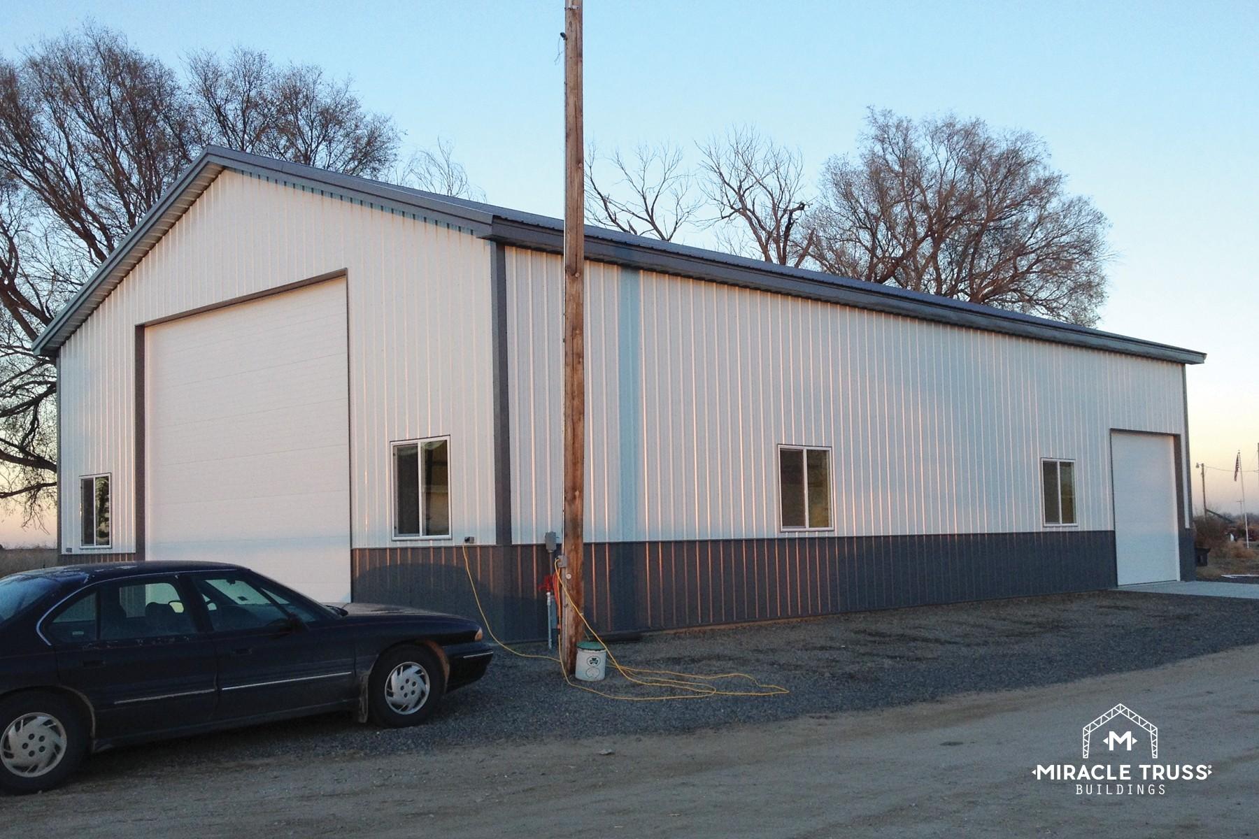 easy assemble diy metal garage or shop miracle truss garages and shops 26 diy shop kit