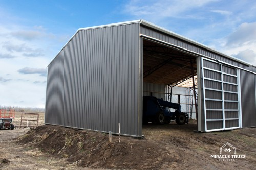steel metal outbuilding