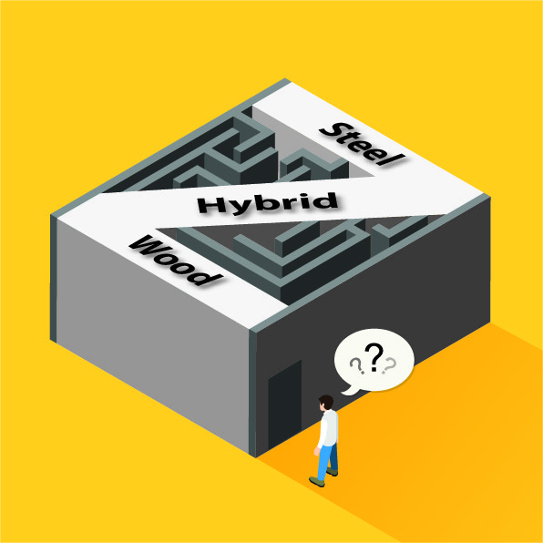 What You Need To Know: A Buyer's Guide To DIY Hybrid Metal Buildings