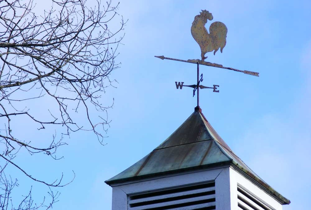 Where Did The Cupola Come From, And Why Did It End Up With A Rooster On Top?