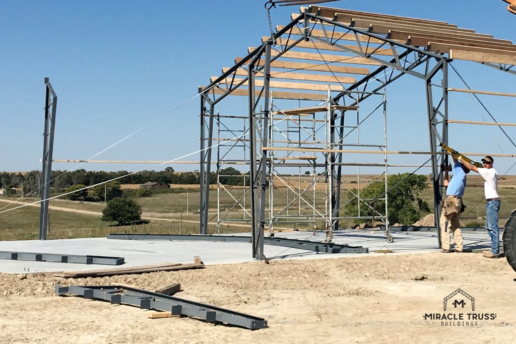 Prefabricated Trusses Allow for Quick DIY Construction