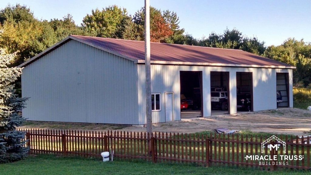 Why Rent? Build a Prefab Garage On Your Property.