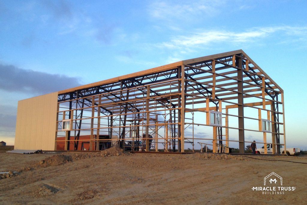 Steel Trusses Help Buildings Go Up Quick, True, and Strong