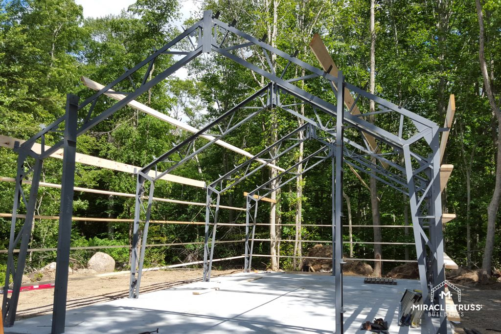 Closer Truss Spacing Creates Construction Strength