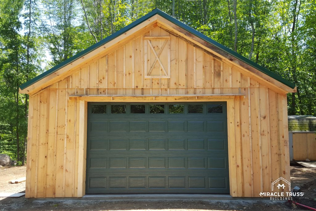 Add Custom Exterior Design to Any DIY Garage Kit