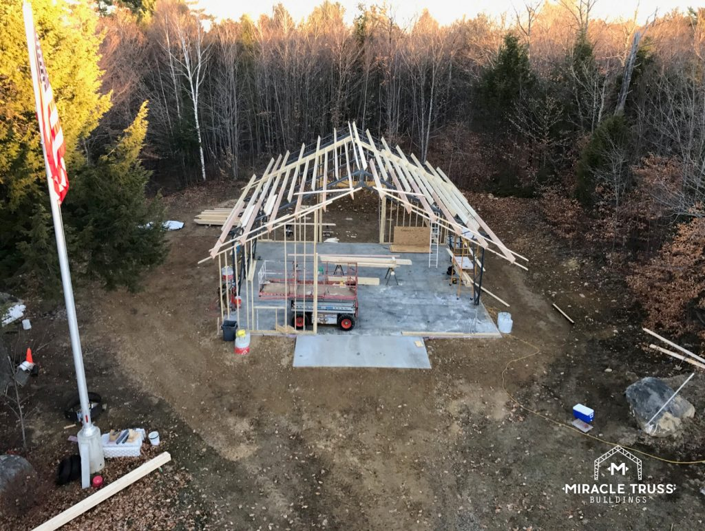 Prefab Trusses Speed Up Construction Time