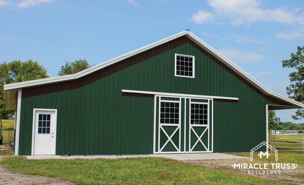 Modern, Low-Maintenance DIY Barn Kits