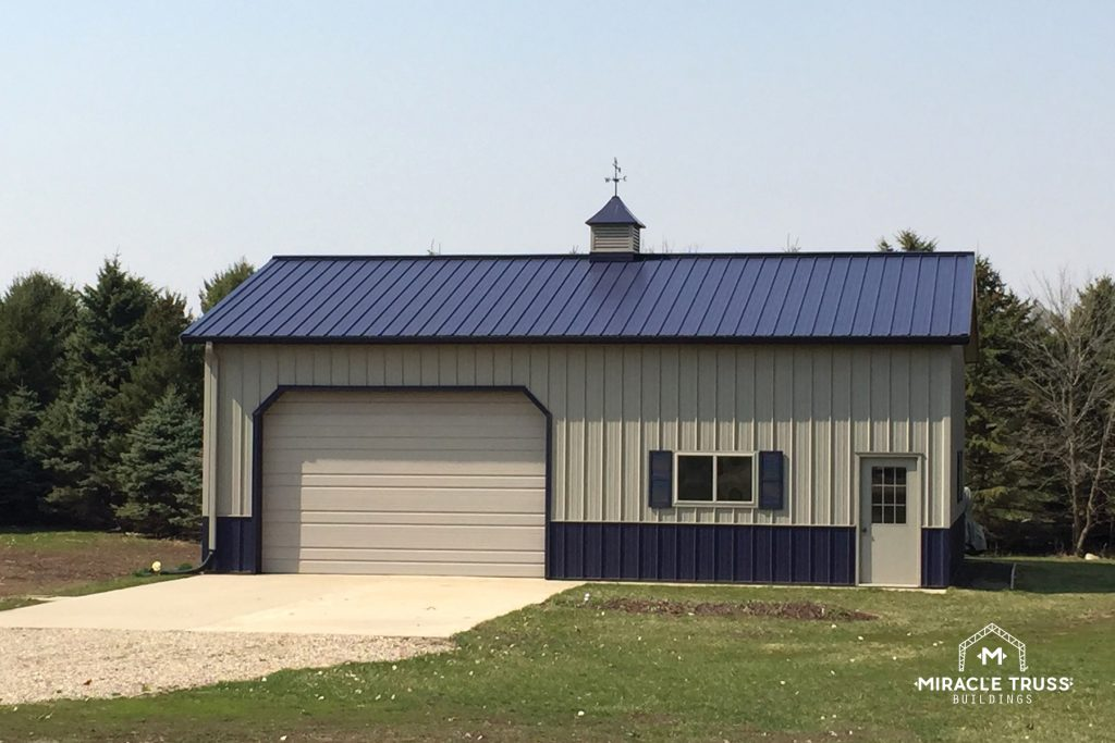 Metal Storage Buildings Don't Have to Look Like Big Boxes