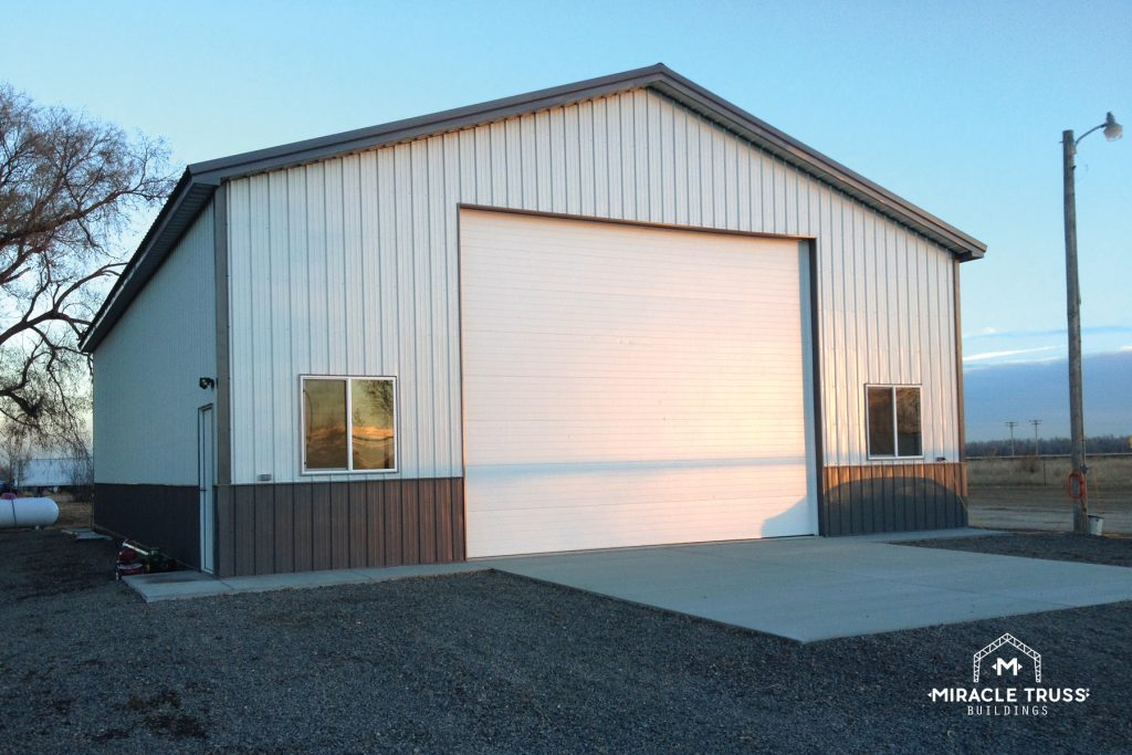 Metal Exteriors Cut Down on Storage Building Maintenance