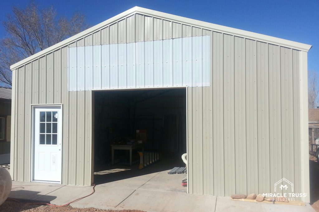 Steel Storage Building Kits are Affordable and Low Maintenance