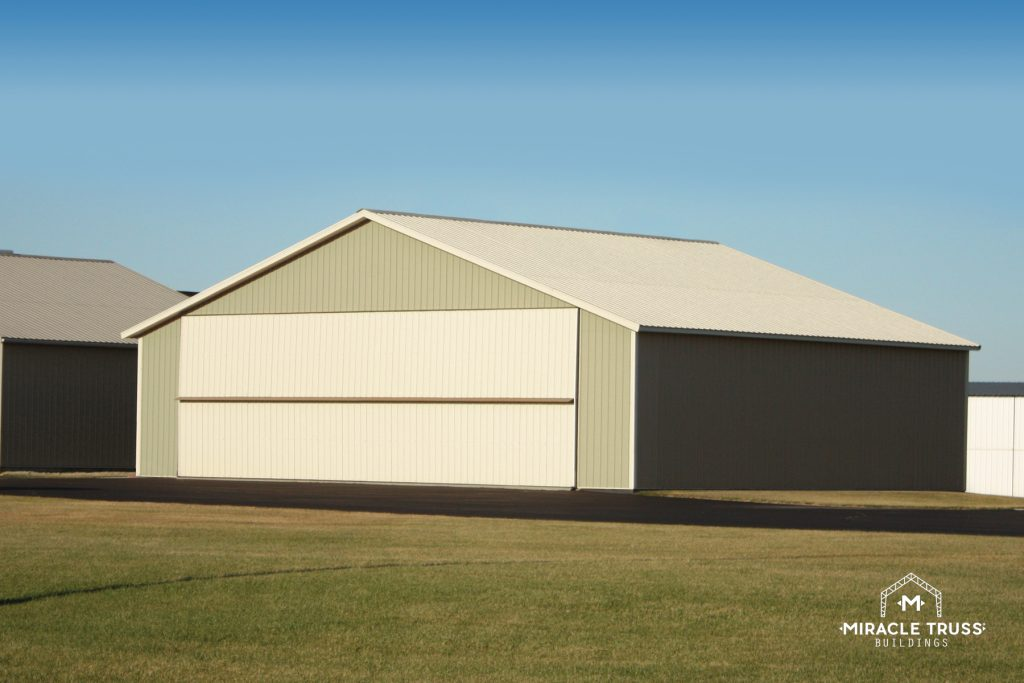 Prefab Hangar Kits Make Onsite Aircraft Storage Affordable
