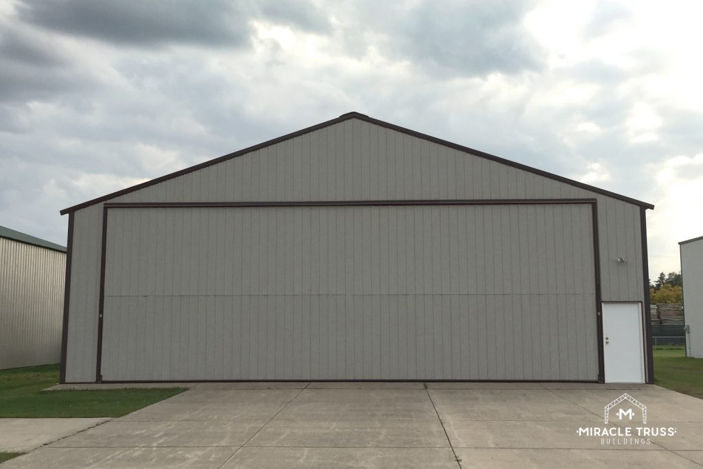 A DIY Solution for Prefab Airplane Hangars