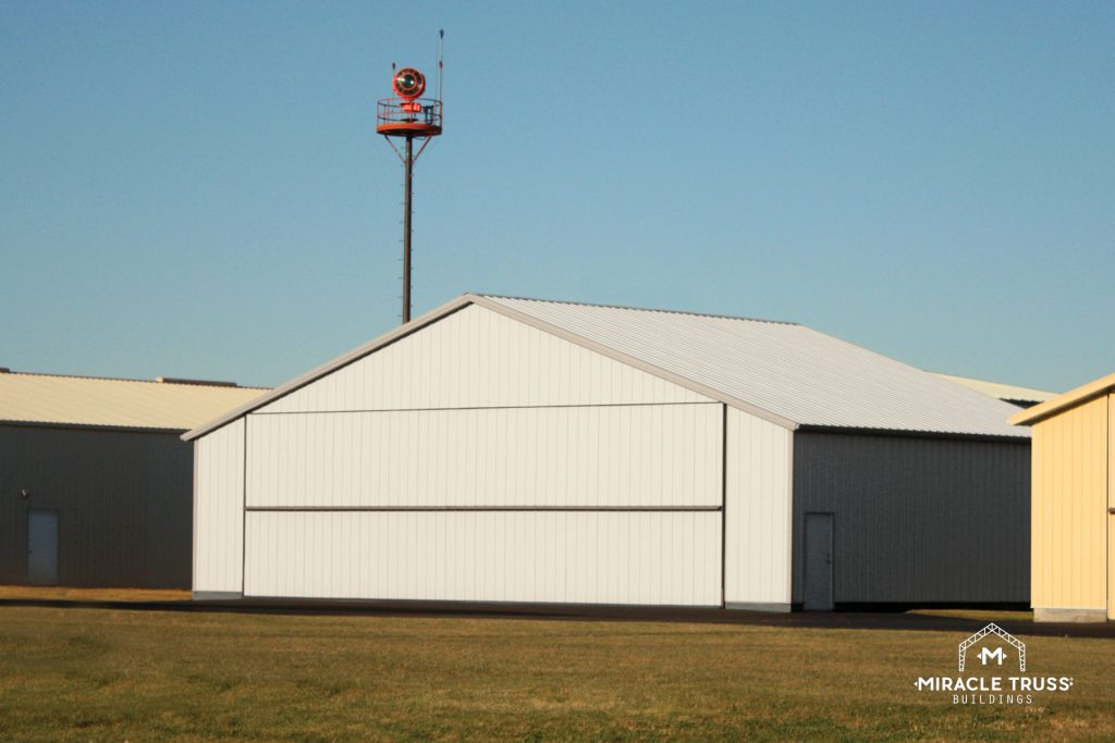 Steel Truss Designs Create Stronger Airplane Hangars