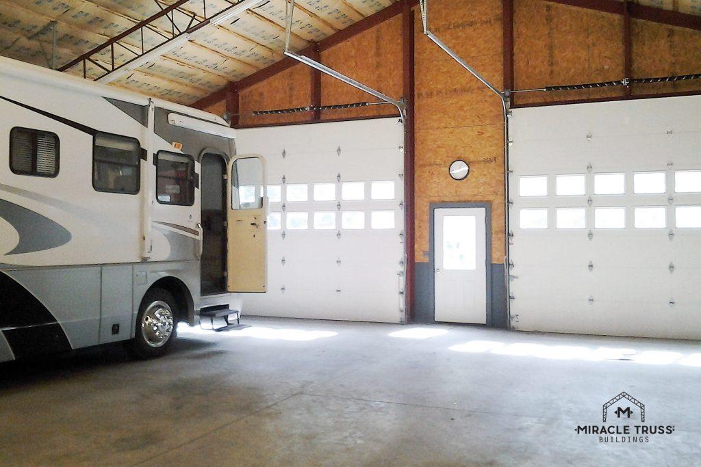 On-Site RV Storage in a DIY Garage