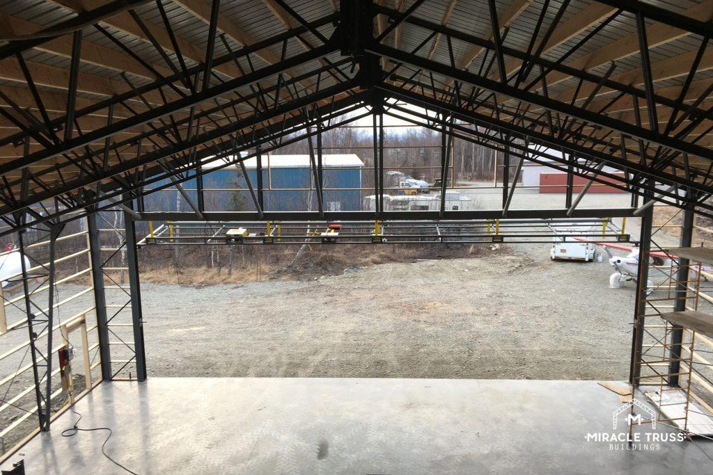 Web Truss Designs Create Ample Vertical Space in the Hangar