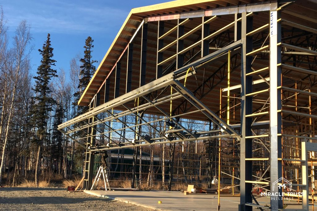 Hangar Trusses with a 50-Year Structural Warranty