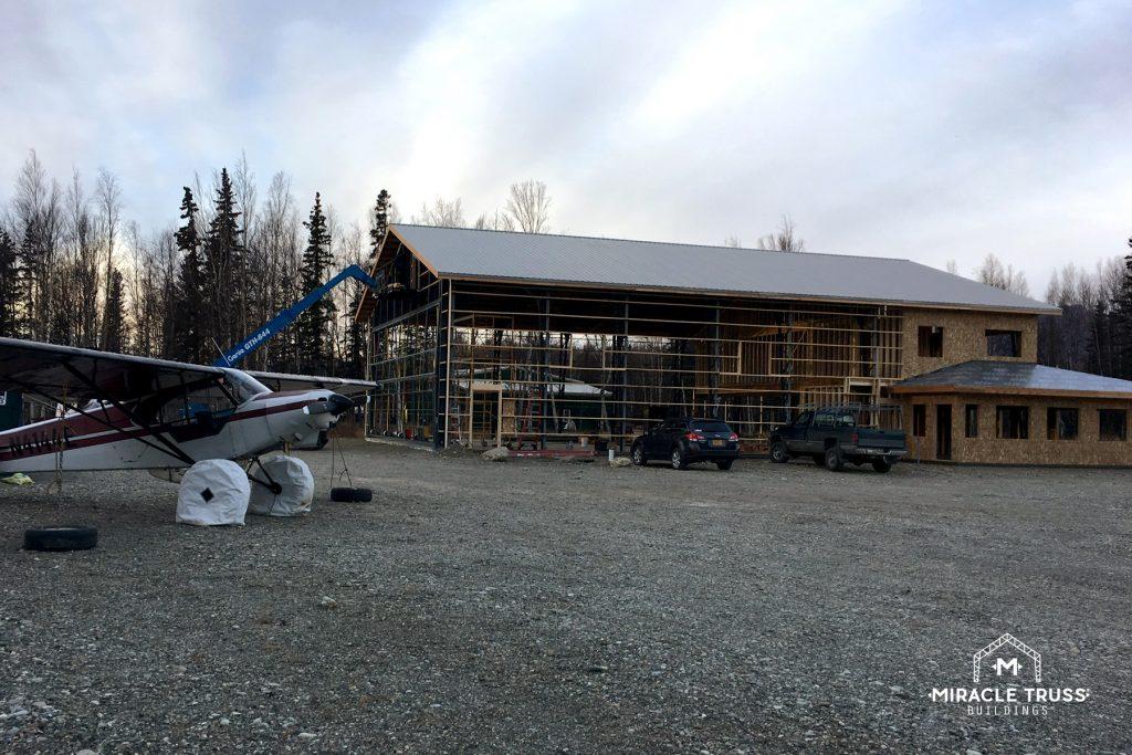 Truss Designs Allow for Hangar Height