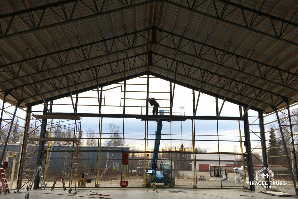 Clear Span Trusses Give You Heights of 30 Feet or More