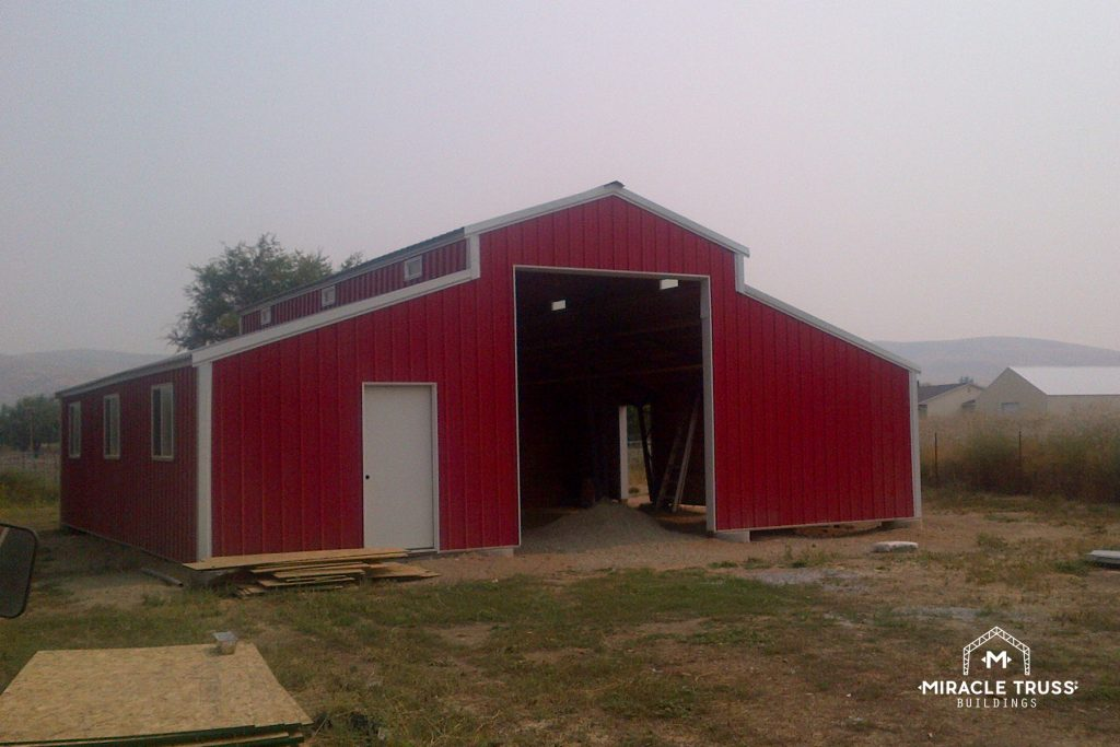 Give Your DIY Agriculture Building a True Barn Look with a Gambrel Roof