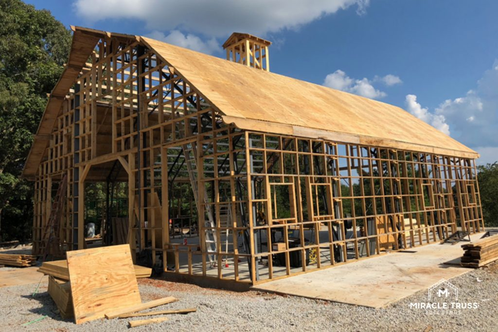DIY Gambrel Roof for Your Barn