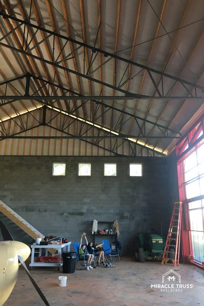 Choose Your Own Exterior Hangar Wall Material