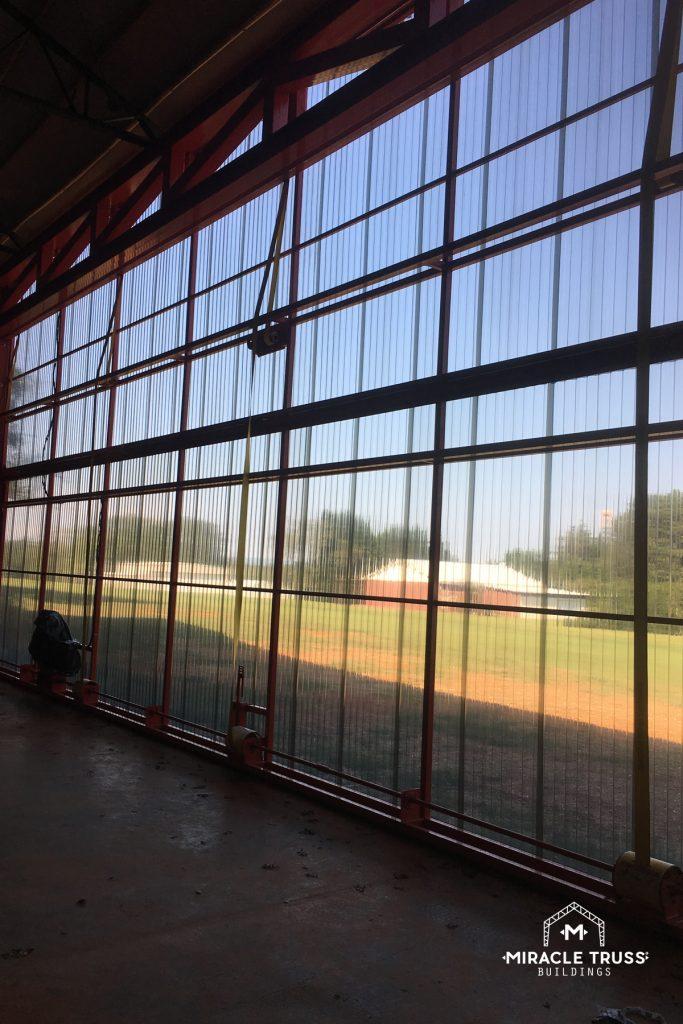 Steel Trusses Support Doors that Span Your Entire Hangar