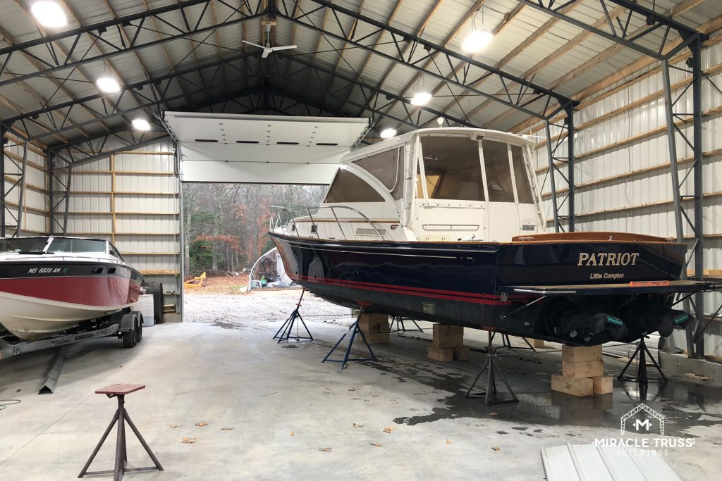 Boat Storage and Maintenance on Your Property