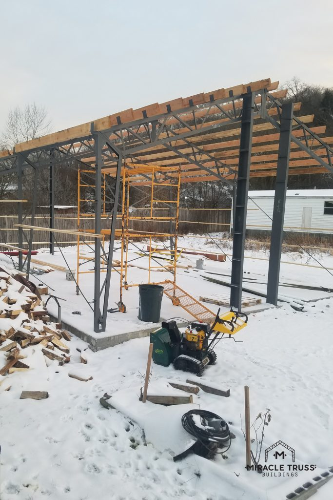 Trusses are Designed and Engineered for Your Area's Snow Load