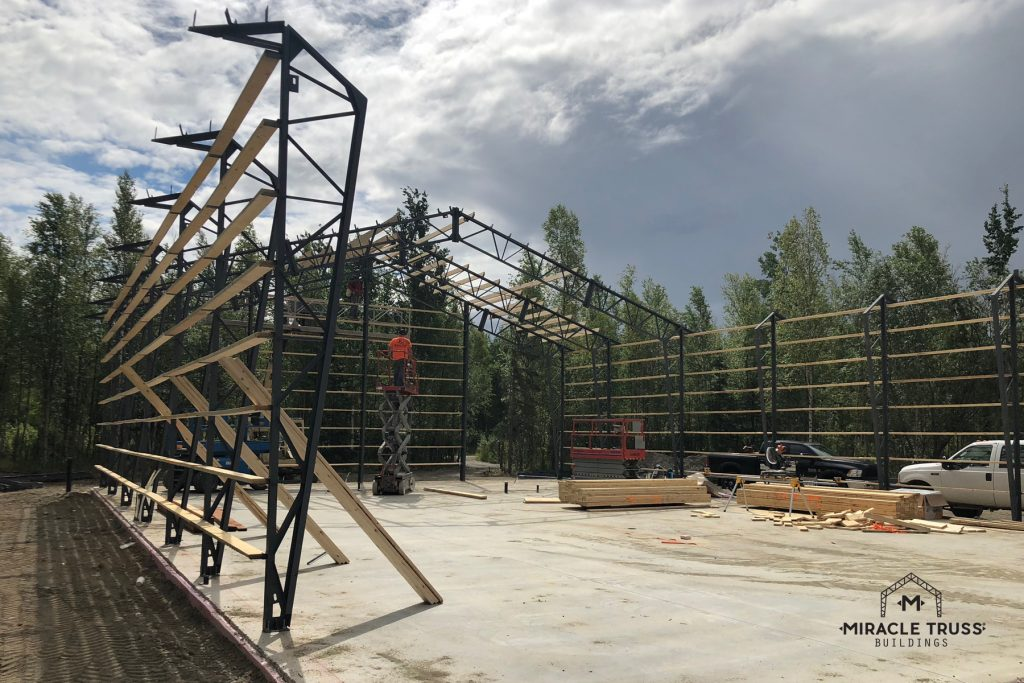Hangar Trusses Offer a 50-Year Structural Warranty
