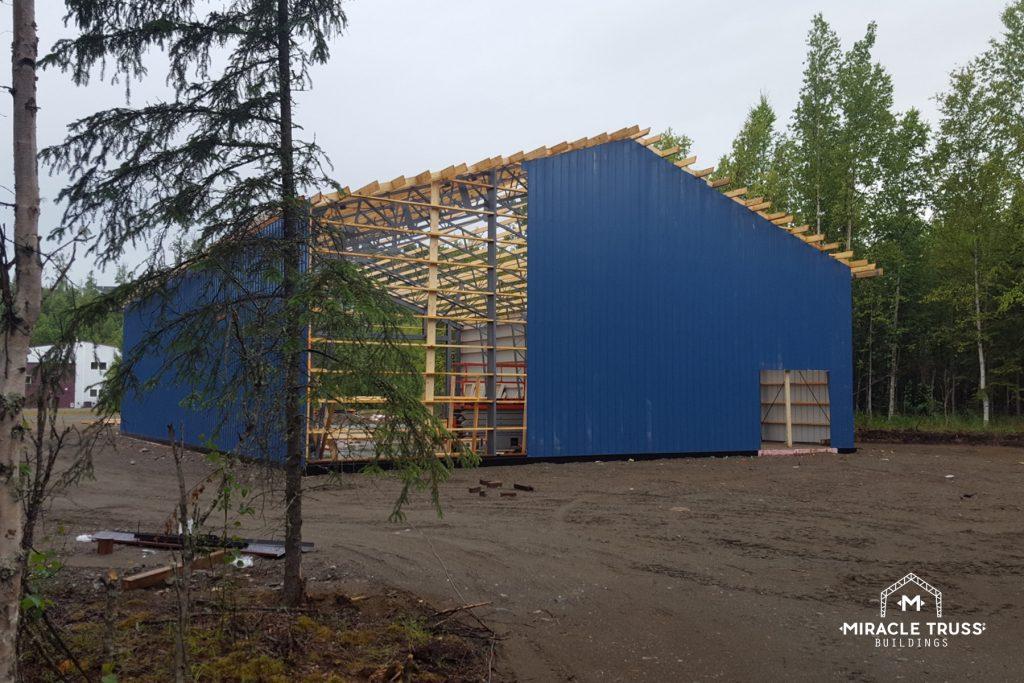 Hangars Feature Wood Studs 24