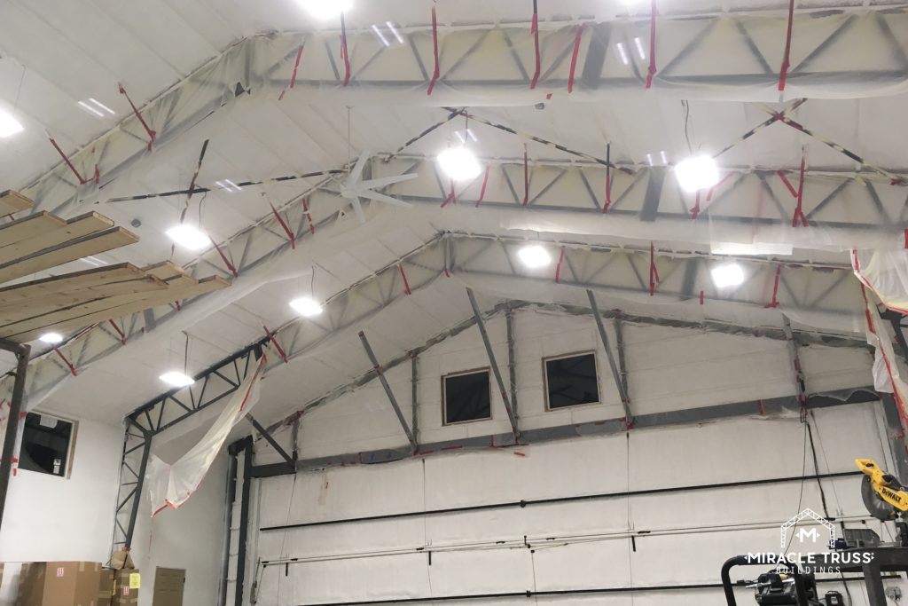 Truss Design Does Away with Flat Ceilings