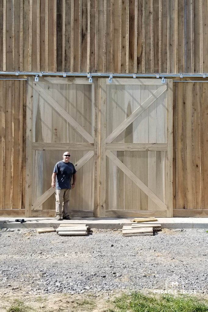 Choose the type of doors and windows that will work best for your Metal Barn.