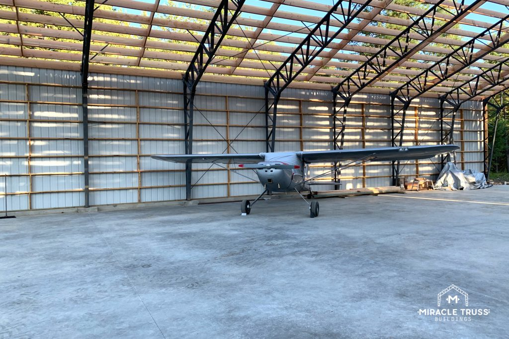 A Pre-Fab Hangar can save you plenty in storage fees.